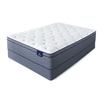 Serta® Sleeptrue® Lindridge Plush Eurotop - Mattress + Box Spring