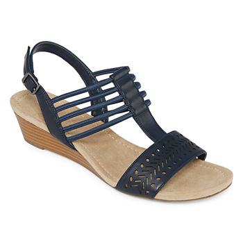 189c5e26a101 St. John s Bay Womens Innis Wedge Sandals · (5). Add To Cart. New. wide  width available