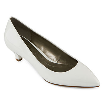 c94b8e9eb24f8 Low White Women s Pumps   Heels for Shoes - JCPenney