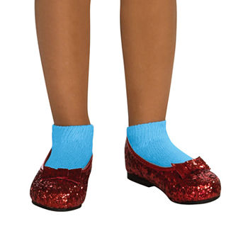 The Wizard Of Oz Ruby Slippers Youth - Red