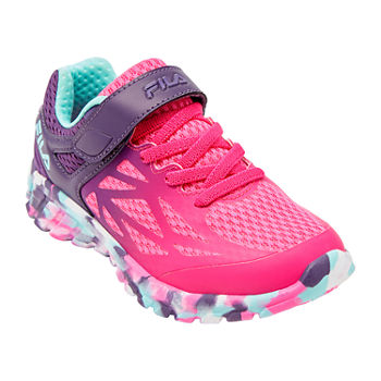 Fila Speedstride Strap Girls Running Shoes
