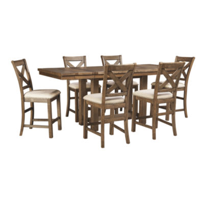 Signature Design By Ashley® Kavarna 7 Piece Counter Height Dining