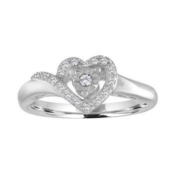 8dd5eb6e8 Heart Rings - Diamond Heart Rings, Ruby & More - JCPenney