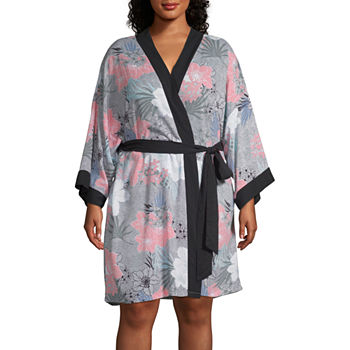 Plus Size 3 4 Sleeve Pajamas   Robes for Women - JCPenney 80654028d