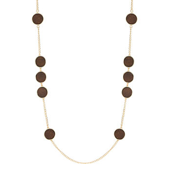 Worthington 36 Inch Curb Strand Necklace