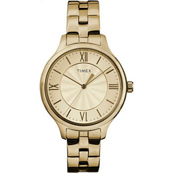 Timex Womens Gold Tone Bracelet Watch - Tw2r281009j