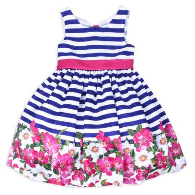 Nanette Baby Sleeveless Party Dress   Toddler Girls