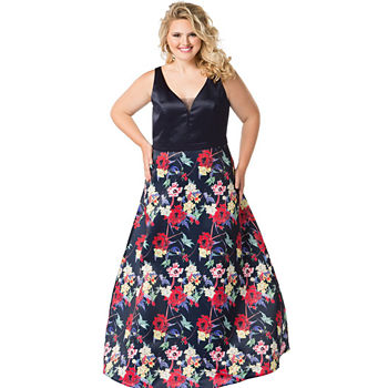 Floral Prom Dresses For Women