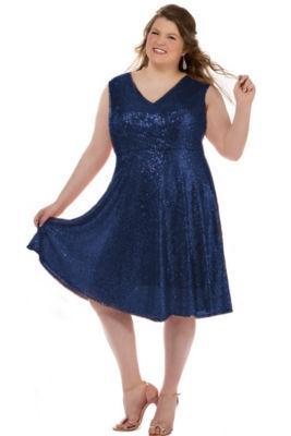 Teenage plus size dresses