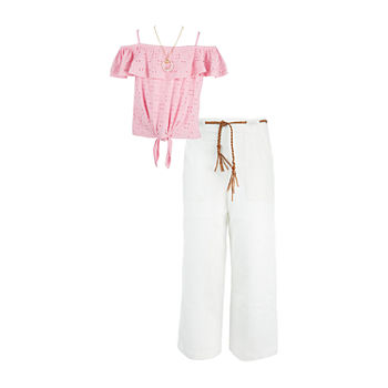 by&by Big Girls 2-pc. Pant Set