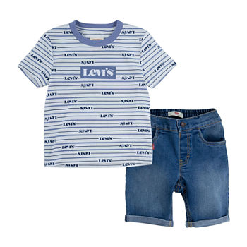 Levi's Toddler Boys 2-pc. Short Set