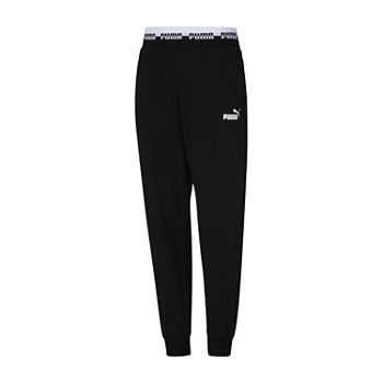 Puma Amplified Womens Mid Rise Jogger Pant