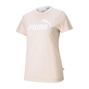 Puma Amplified Womens Crew Neck Short Sleeve T-Shirt