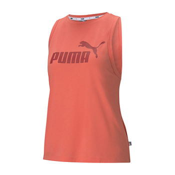 Puma Amplified Womens Crew Neck Sleeveless Tank Top