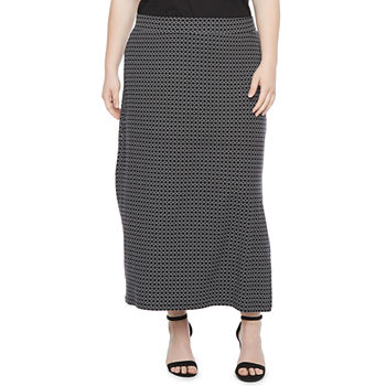 Liz Claiborne Womens Maxi Skirt - Plus