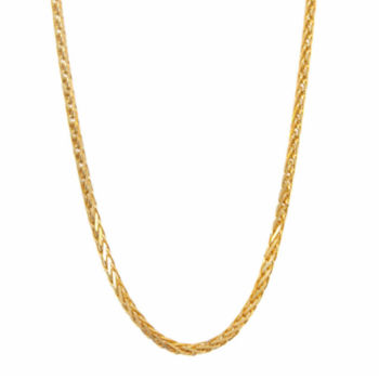 Fine Jewelry Infinite Gold 14K Yellow Gold 30 Glitter Solid Rope Chain