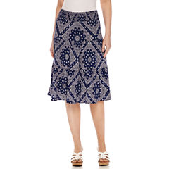 St. John's Bay Short Knit Skirt