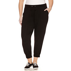 Liz Claiborne® Slim-Fit Jogger Pants - Plus