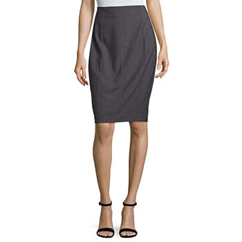 Worthington High Waisted Essential Suiting Pencil Skirt