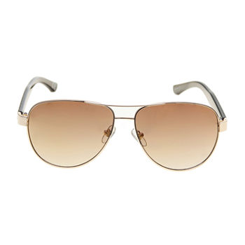 JF J.Ferrar Mens Full Frame Aviator Sunglasses