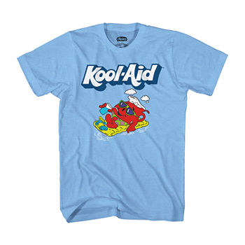 Kool-Aid Mens Crew Neck Short Sleeve Graphic T-Shirt