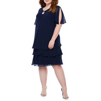 099b896e1b Women's Plus Size Dresses for Sale Online | JCPenney
