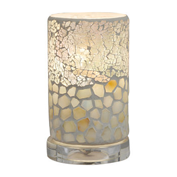 "Dale Tiffany Andes 6.75""H Mosaic Desk Lamp"