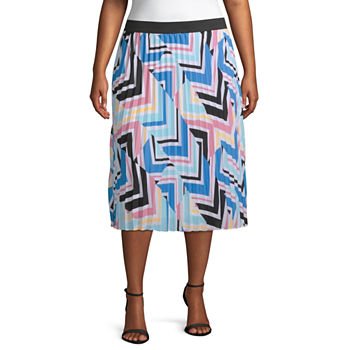 fb046a90adc Plus Size Skirts for Women - JCPenney