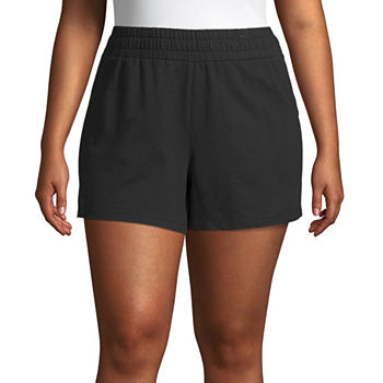 e93d057717 Plus Size Shorts Activewear for Women - JCPenney