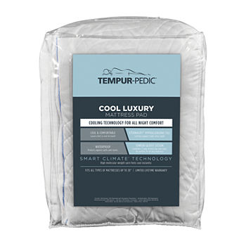 Tempur-Pedic Cool Luxury Waterproof Deep Pocket Mattress Pad