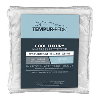 Tempur-Pedic Cool Luxury Waterproof Mattress Protector
