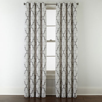Geometric 108 Inch Curtains & Drapes for Window - JCPenney