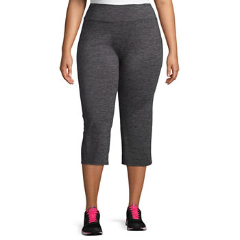 c30bc6dbcc9 Gaiam® Om High Rise Quick Dry Capri Leggings - Plus. Add To Cart. Black.  Charcoal Heather.  41.60 sale
