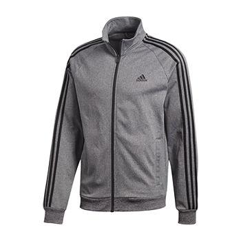 0e9289c204 adidas Long Sleeve Knit Tricot Jacket