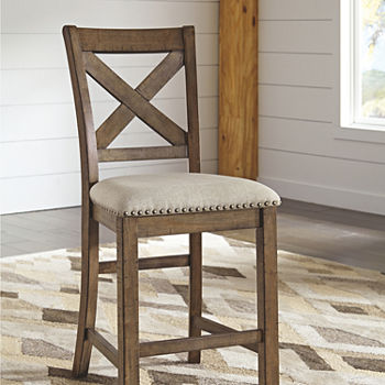 Upholstered Bar Stools Accent Furniture For The Home Jcpenney