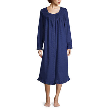 ca0fcc1cfe Long Sleeve Blue Pajamas   Robes for Women - JCPenney