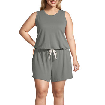 f73a316174e4 Plus Size Rompers Jumpsuits   Rompers for Women - JCPenney