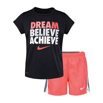 76fc0d4cbd Nike 2-pc. Short Set Girls