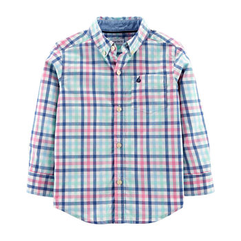 2a1201c4 ... Boys Long Sleeve Button-Front Shirt Toddler. Add To Cart. Few Left