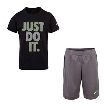588f100542 Nike Boys Crew Neck Short Sleeve Graphic T-Shirt-Big Kid. Add To Cart.  Gunsmoke. $27 sale
