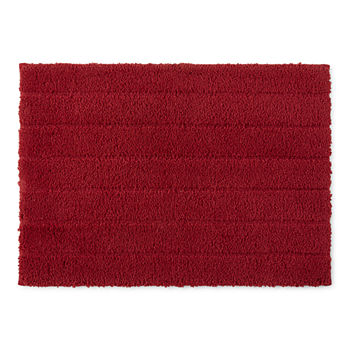 Red Bathroom Rugs Jcpenney Save