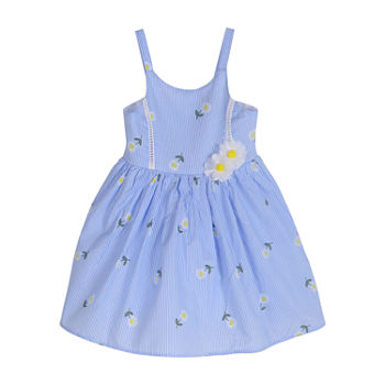 Lilt Toddler Girls Sleeveless Floral A-Line Dress