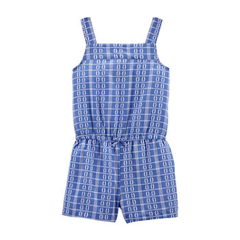 Carter's Little & Big Girls Sleeveless Romper