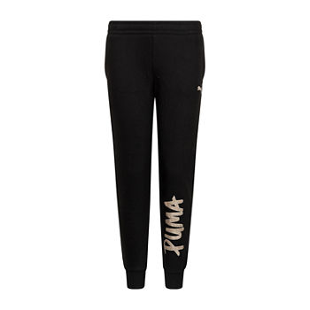 Puma Big Girls Cuffed Jogger Pant
