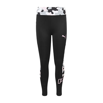 Puma Big Girls Full Length Leggings