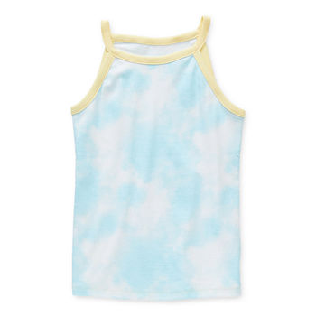 Arizona Little & Big Girls Halter Neck Tank Top