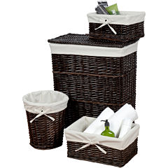 Creative Bath™ Wickerworks 4-pc. Storage Hamper Set