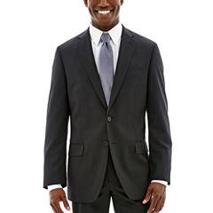 Claiborne® Black Solid Stretch Suit Jacket - Classic Fit