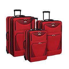 Travelers Club Skyview 3-pc. Luggage Set