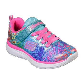Girls' Skechers Little Kid & Big Kid Wavy Lites Slip On Sneakers